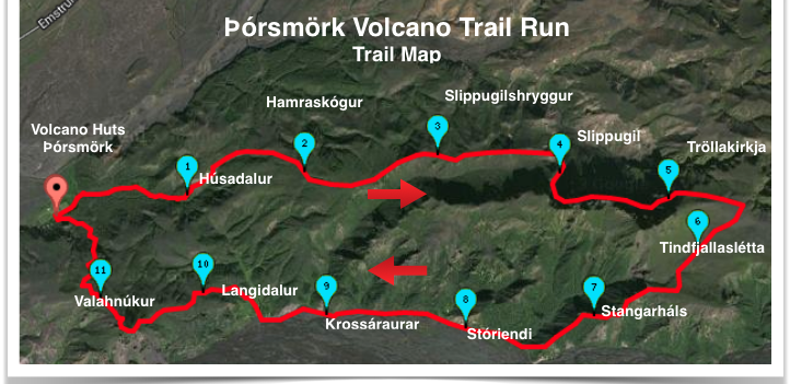 Volcano Trail Run Þórsmörk